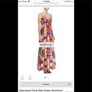 Aidan Mattox Floral Maxi size 6! Stunning!! NWT